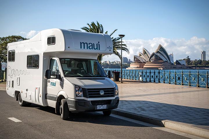 Maui Platinum River Camper in Sydney