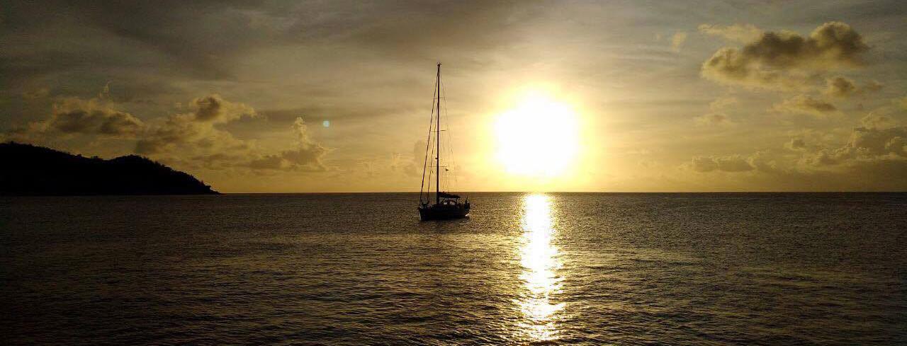 Seychellen Reisebericht - Romantischer Sonnenuntergang Seychellen