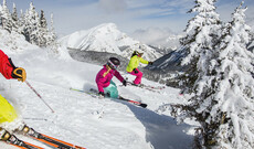 Skiverleih Region Banff Sunshine, The Lake Louise Ski Resort und Mount Norquay