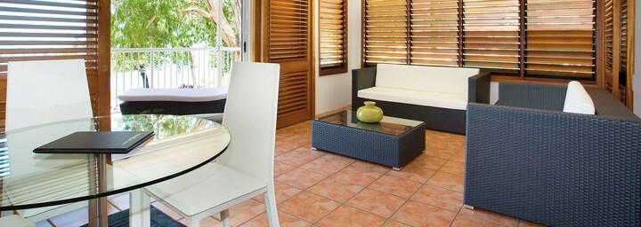 Beispiel Wohnbereich - Paradise on the Beach Resort Palm Cove