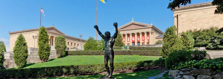 Rocky-Statue in Philadelphia