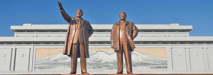 Mansudae Monument in Pyongyang