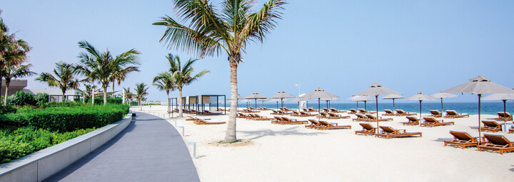 The Oberoi Beach Resort - Strand