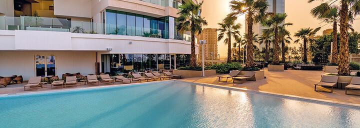 FIVE Jumeirah Village Dubai Pool