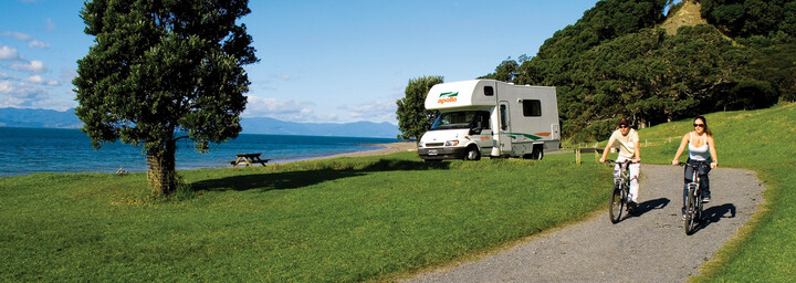 Apollo Camper in Neuseeland