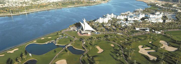 Luftaufnahme des Park Hyatt Dubai