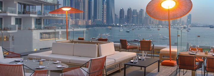 """Maiden Terrace"" - FIVE Palm Jumeirah Dubai"