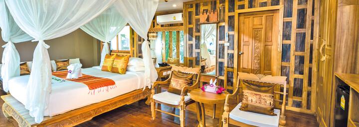 Garten Villa Beispiel - Santhiya Tree Koh Chang Resort