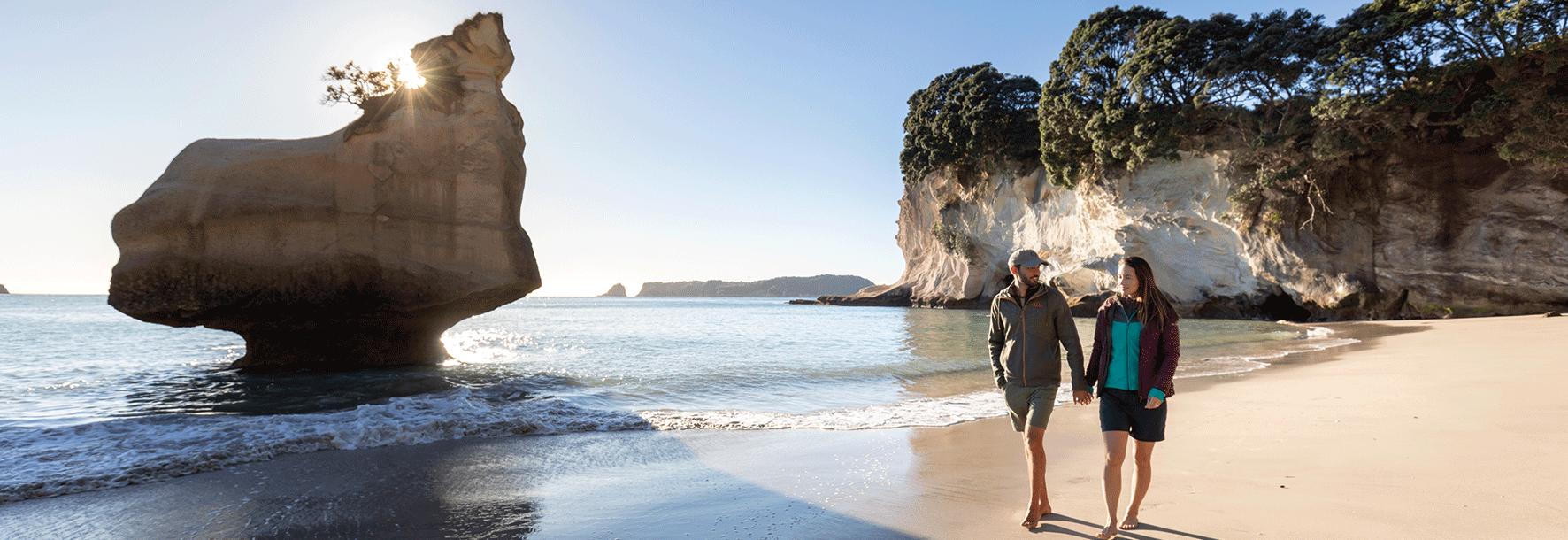 Cathedrale Cove Coromandel Halbinsel - Neuseeland
