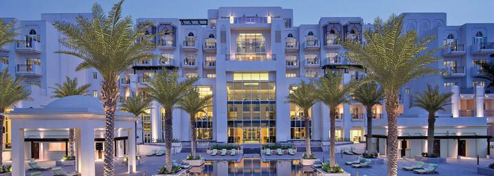 Außenansicht Anantara Eastern Mangroves Hotel & Spa Abu Dhabi