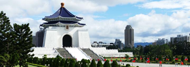 Chiang-Kai-Shek Gedächnishalle in Taipei