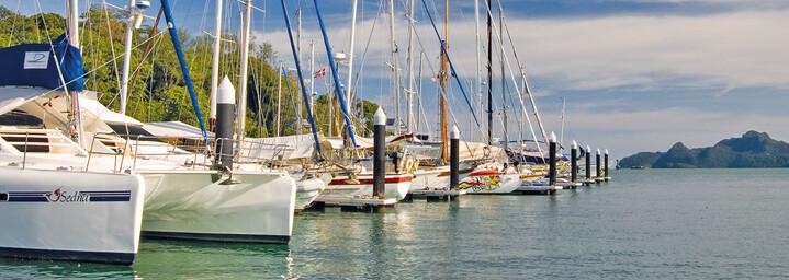 Yacht-Club auf Langkawi