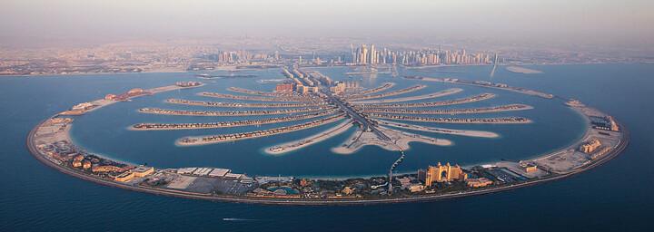 Dubai The Palm Jumeirah