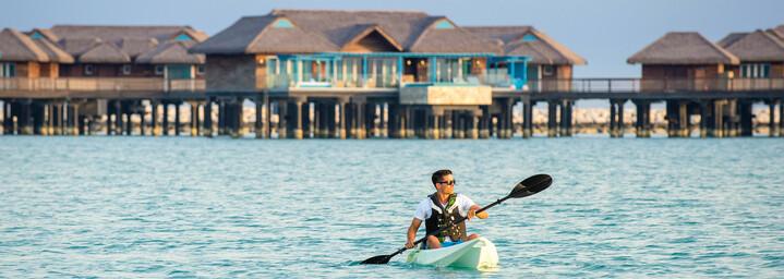 Kayaking am Banana Island Resort by Anantara in Doha