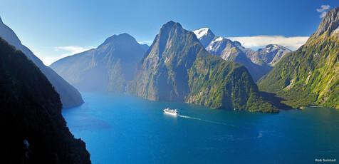 Schifffahrt auf dem Milford Sound