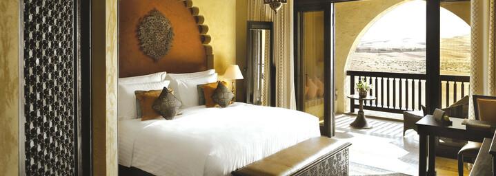 Beispiel Deluxe-Balkon-Zimmer Qasr Al Sarab Desert Resort by Anantara Liwa-Wüste