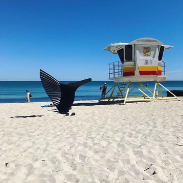 Reisebericht Australien: Fremantle Strand
