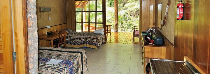 Zimmerbeispiel Atiu Villas Cook Islands