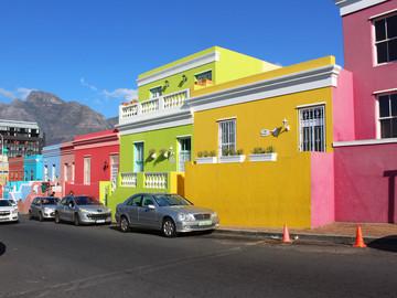 Reisebericht Südafrika - Malaienviertel Bo-Kaap in Kapstadt