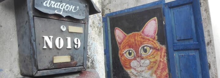 Straßenkunst in Georgetown, Penang