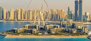 Dubai - Bluewaters Island im Luxusresort