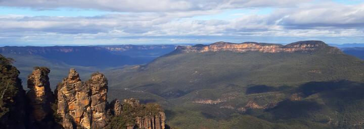 Blick auf die Blue Mountains - New South Wales Australien