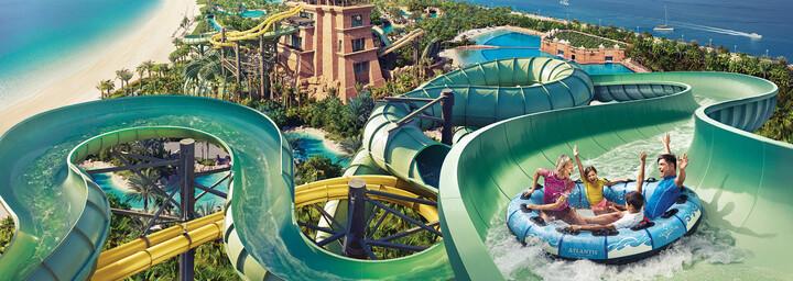 Aquaventure Wasserpark in Dubai