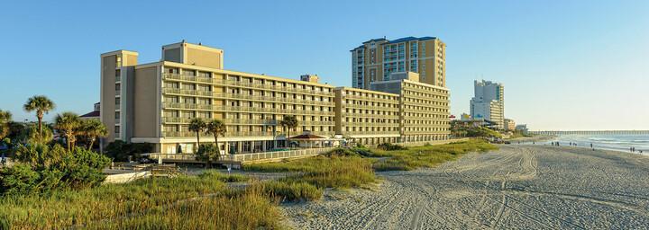 Außenansicht des Westgate Myrtle Beach Oceanfront Resort
