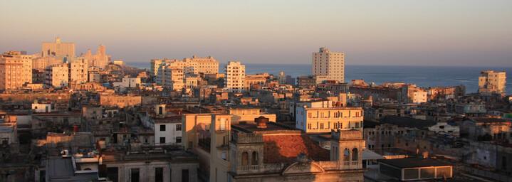 Skyline Havanna auf Kuba