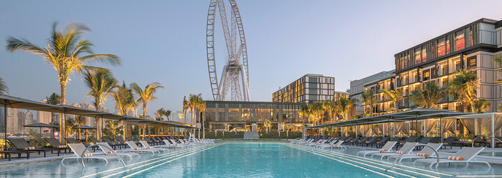 Pool - Caesars Resort Bluewaters Dubai
