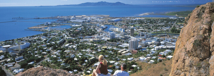 Townsville von Oben