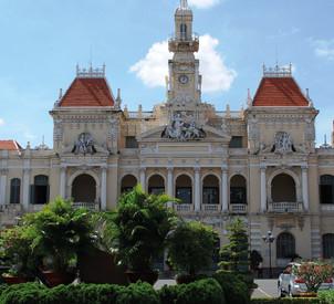 Reisebericht Vietnam - Rathaus in Ho Chi Minh City