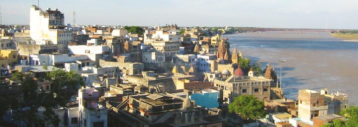 Blick auf Varanasi