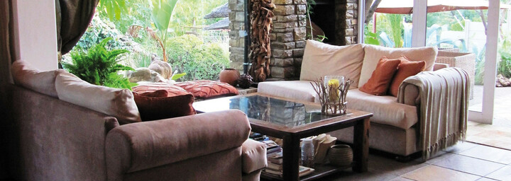 Lounge des Terra Africa Guesthouse