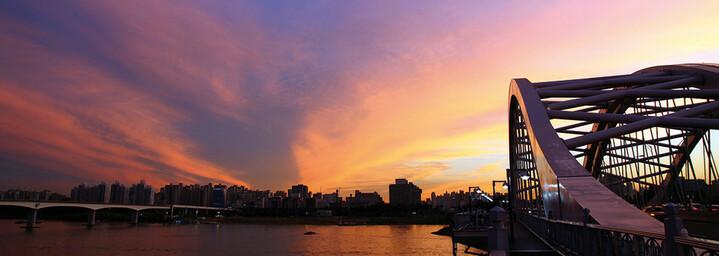 Seoul Han-Fluss