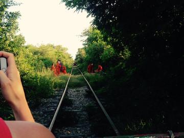 Reisebericht Kambodscha: Fahrt mit dem Bambus Zug