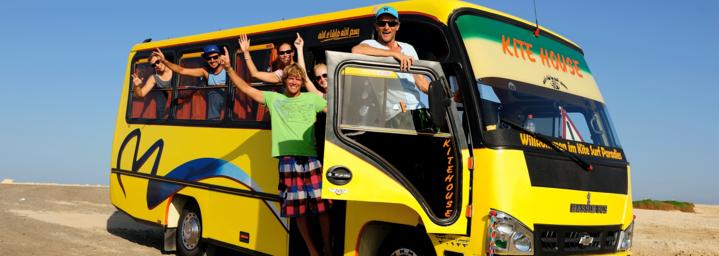 Shuttlebus Kitestrand