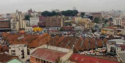 Madagaskar Reisebericht: Hauptstadt Madagaskars Antananarivo