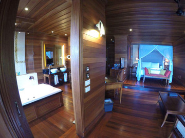 Reisebericht Seychellen - Zimmer im Hilton Seychelles Northolme Resort & Spa