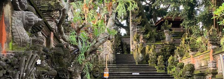 Tempeleingang in Ubud