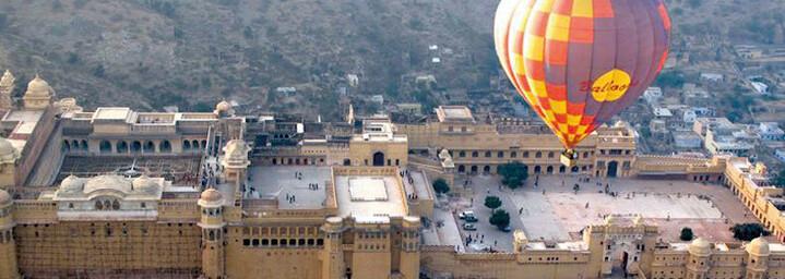 Ballonfahrt über Jaipur