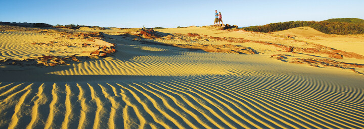 Wungul Sandblow auf Fraser Island