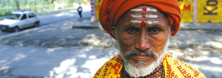 Sadhu in Pokhara