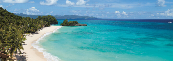 Küste der Insel Boracay