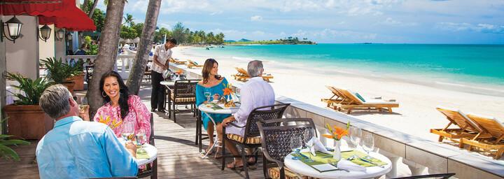 Restaurant Bayside Sandals Grande Antigua Resort & Spa