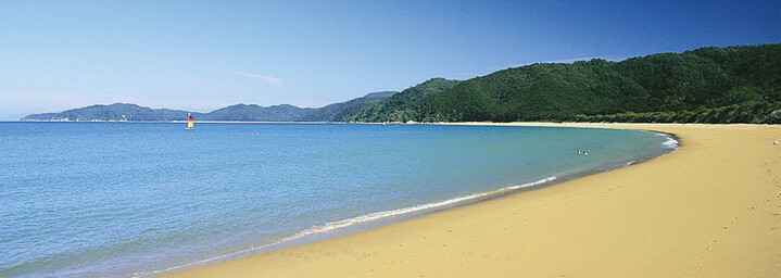 Totaranui Strand, Abel Tasman Nationalpark