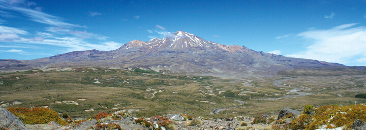 Mt. Ruhapehu Tongariro Nationalpark