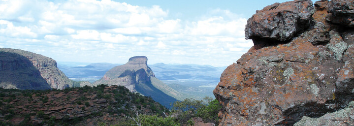 Landschaft der Waterberg Mountains