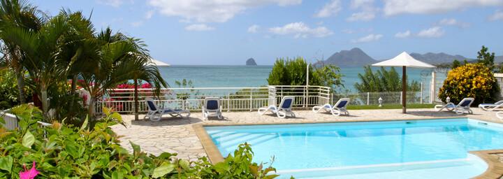 Pool vom Hotel Corail auf Martinique