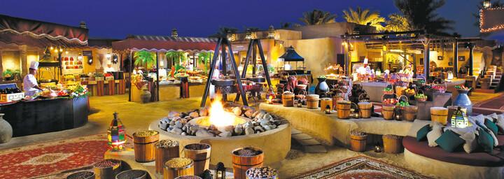 Restaurant Bab Al Shams Desert Resort & Spa Dubai Wüste